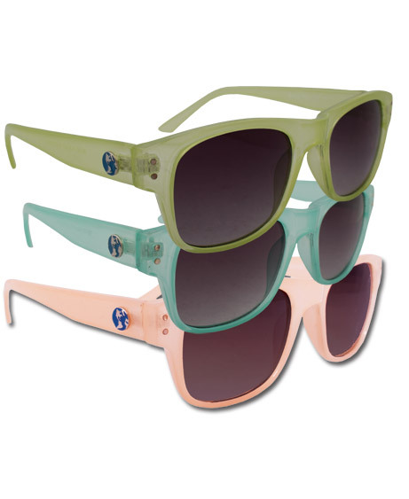 $20 Eco Sunglasses in turquoise, lime, or peach! (via NEW! Eco-Rad UV Sunglasses: Soul-Flower Online Store)