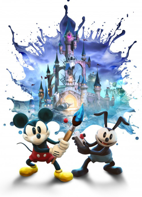 "gamefreaksnz:  Epic Mickey 2 ""The Power of Storytelling"" trailer  Disney's new trailer showcases the writing talent behind Disney's Epic Mickey 2: The Power of Two."