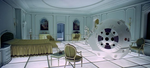 flavorpill:  The banal and the bizarre of Kubrick's design
