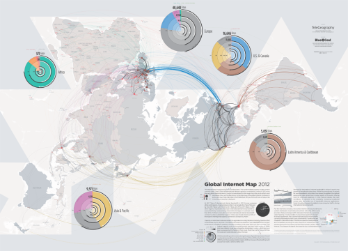 TeleGeography's Global Internet Map 2012