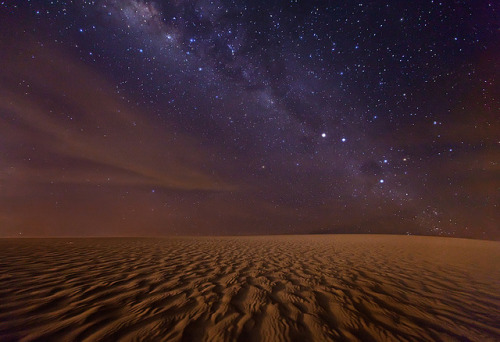 4bduct:  The Red Planet. Milky Way over Jericoacoara by Michael Anderson by AndersonImages on Flickr.