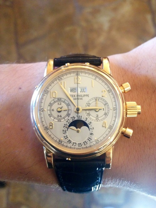 Patek 5004J - Little. Yellow. Different. -JM