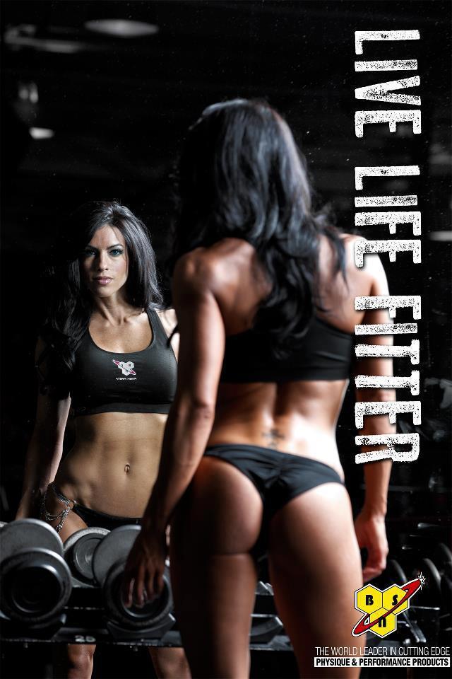 noexcuses101:  Live life fitter - Amanda Latona.  What a cracking behind she has!