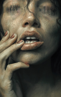 martinekenblog:  (via Eaten Art Print by Sam Spratt | Society6)