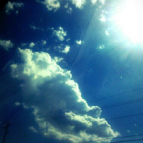 Another #cloud pic (Taken with Instagram)