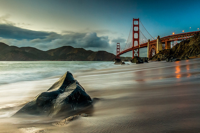 Pointed Up - Marshall Beach - Golden Gate Bridge on Flickr.Via Flickr: I have posted this photo before, but wanted to do a little a version #2. View on Black [Website] [facebook] [Google+] [Tumblr] [Twitter]*All Rights reserved - Please do not use my images on blogs, personal or professional websites, or any other digital media without my consent. Thank you.