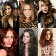 Hair color ideas via @Be. NYLA-hair and makeup ! Live in Los Angeles? Like us on facebook and get 10% off hair color services! facebook.com/benyla | http://bit.ly/OjmhmM