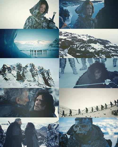 Beyond the wall.