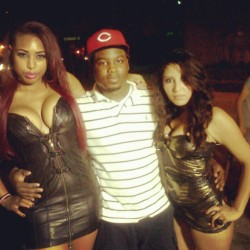 My dj @supadupahumble2 on the set of my video for my new single #HUNNIDS  (Taken with Instagram)