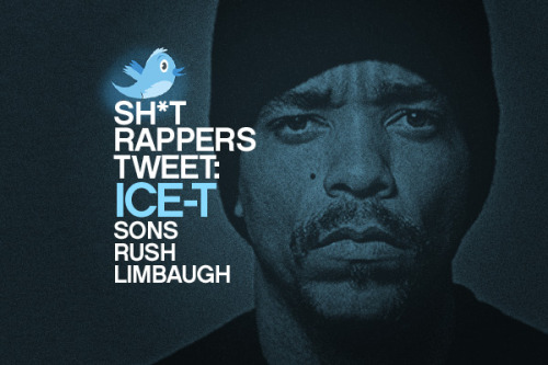 egotripland:  Sh*t Trappers Tweet: Ice-T Sons Rush Limbaugh Love it! Rush Limbaugh gets owned…