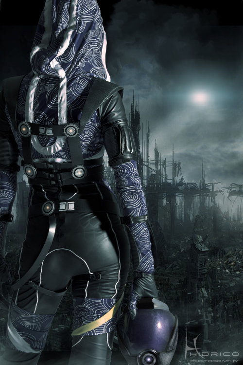 erinmar13:  Tali- Homeworld by *Hidrico mindblowing cosplay.