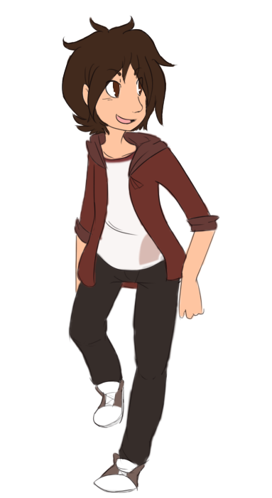 whoops I arted Also I'm planning on sticking Cale in Sytora??? totally isn't because wolf's gonna be in it nope So yeah I just decided to change his trainer outfit because of reasons. I kinda like this one but if I make any changes to it don't be surprised?? Yeah