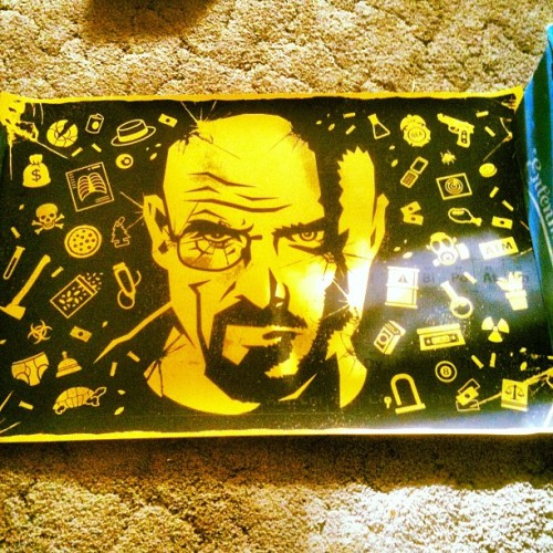 My breaking bad poster! (Taken with Instagram)
