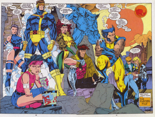 The X-Men By Jim Lee