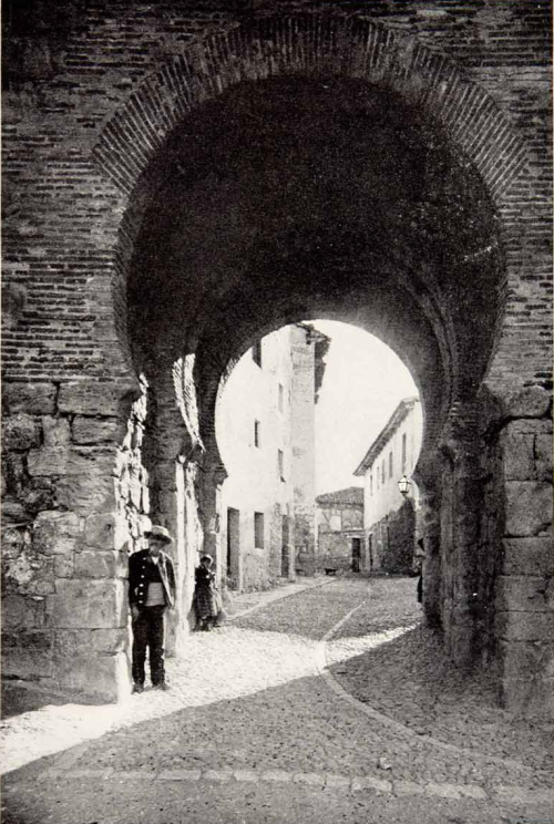 An Arab Gateway in Burgos, Spain, 1901