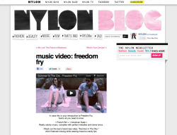 // SITC on NYLON BLOG //