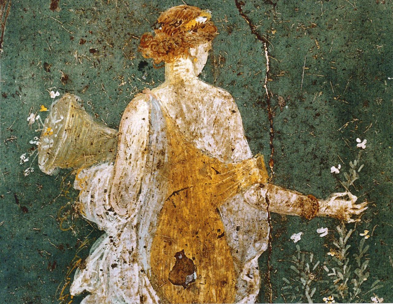 Roman Wall Paintings Pompeii