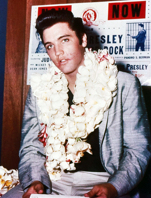 Elvis Presley in Hawaii, 1957