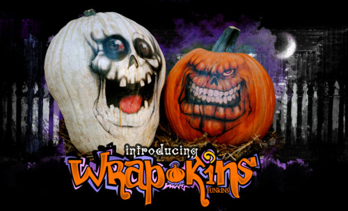 Wrap-Kins are a new craft invention from the spooky minds of Fun-Kins! Transform your pumpkins and Funkins into life like characters in minutes!