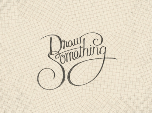"""Draw Something"" Wallpaper"
