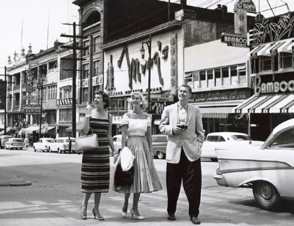 Chinatown, June 1959 Source: Toro Magazine