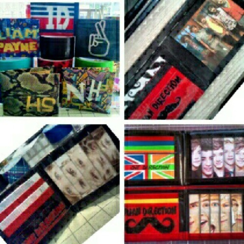 zackoid:  Previous @onedirection wallets I've created! 8-) (Taken with Instagram)