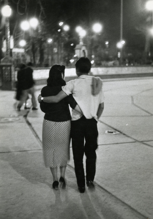 Nacho Lopez. Couple la nuit, Mexico