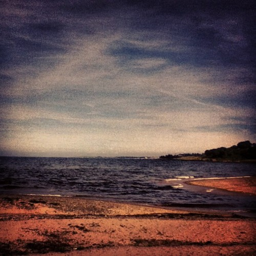 At the beach today  (Taken with Instagram)