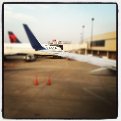 CMH»>LAX (Taken with Instagram at Gate C56)