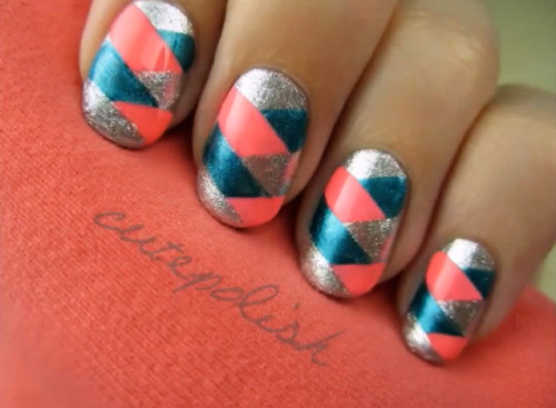 Check out this tutorial from CutePolish on how to achieve the braided nail look!