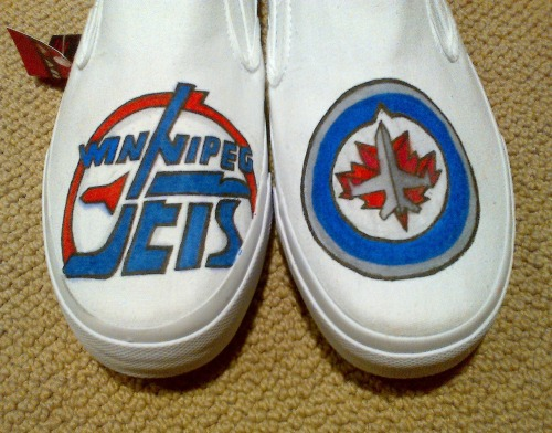 Winnipeg Jets Shoes.