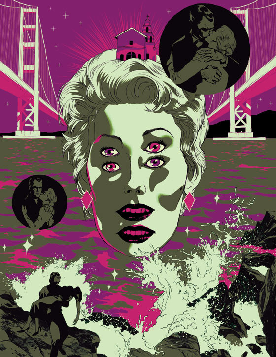 just-art:  Vertigo : by Tomer Hanuka