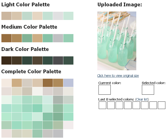 froopoo:  This is a good pallete grabber site too.