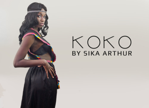 KoKo by Sika Arthur clothing line photo shoot.