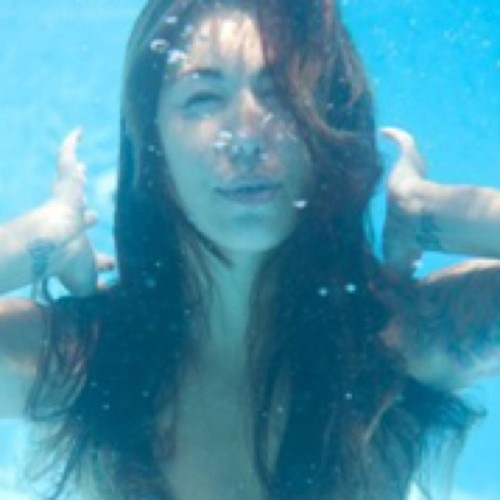 Someday not to long at suicidegirls.com #underwater #suicidegirls  (Taken with Instagram)