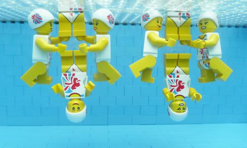 LEGO Olympics 2012  synchro team team by Bricks for Brains on Flickr.