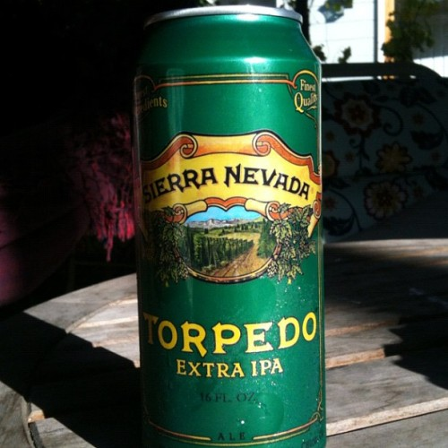 Damn the Torpedoes!  Full speed ahead!  #beer #ipa #sierranevada #torpedo  (Taken with Instagram)