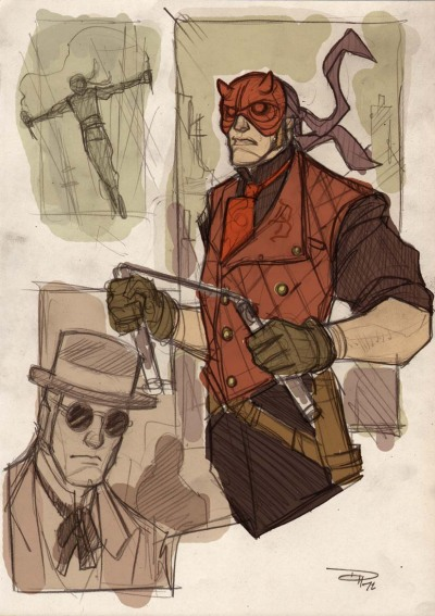 Daredevil Steampunk Re-Design by Denis Medri