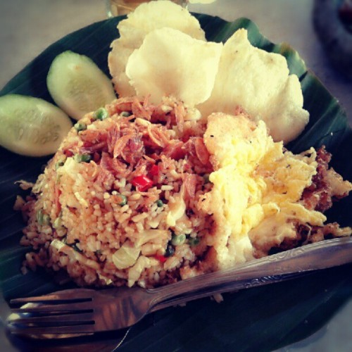 Fried Rice, yummy ;) #Indonesian #food #instadaily #instaphoto #instadroid #instagram #fairlygirl85  (Taken with Instagram)
