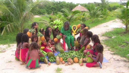 "Jamaican Rastas Living Sattvic Lifestyle SATTVA (from wikipedia)In Vedic philosophy, sattva (Sanskrit sattva / सत्त्व ""purity"", literally ""existence, reality""; adjectival sāttvika ""pure"", anglicised sattvic) is the most rarefied of the three gunas in Samkhya, sāttvika ""pure"", rājasika ""dim"", and tāmasika ""dark"". Importantly, no value judgement is entailed as all guna are indivisible and mutually qualifying. The Viṣṇu or the Deity of the quality of goodness in the material world is the puruṣa-avatāra known as Kṣīrodakaśāyī Viṣṇu or Paramātmā.[1] Sattvic objects For an object or food to be sāttvika, it must be uncontaminated and should not spread evil or disease in the world. On the contrary its presence must purify the surroundings. Thus when an individual consumes such a food, he must feel that he is eating pure food. The food should be healthy, nutritious and clean. It should also not weaken the power or equilibrium of mind. This idea disallows aphrodisiacor other drugs and intoxicants that can affect the mind in such a way. It also disallows food or objects obtained after killing or causing pain to a creature. This is because the object would then have source in an evil act. It also excludes stale and pungent-smelling food. Some objects that are considered sāttvika are: Flowers, fruits, and food that are allowed as offerings to God Neem tree The milk of a cow which has grown in good surroundings, is healthy and has been obtained after the calf of the cow has been fed well. In cases when the cow has been ill treated, it becomes sinful or evil to drink such milk (Note that the cow is sacred in Hinduism_ Nature has always had a connotation with being sattvika. Because of this, Hindu philosophy does not encourage the eating of animals, or the destruction of nature and its habitats. Sattva is a state of mind in which the mind is steady, calm and peaceful. A sattvika man or woman works with no attachment to the result. Sattvic creatures A person or creature can be called sāttvika if the creature has predominantly sāttvika tendencies. The name ""sathvik"" implies one who is divine, pure, and spiritual. Sāttvika individuals always work for the welfare of the world. They are hardworking, alert, generous. They live life moderately, and have good memory and concentration. Sattvic qualities include leading a chaste life, eating moderately, using precise language and speaking truths palatably. A sattvic individual speaks compliments and avoids vulgar or insulting language, is never jealous, and is unaffected by greed and selfishness. Such an individual is confident and experiences abundance. It is not in the nature of a sattvic individual to cheat or mislead others. A sattvic person will show what is and describe destinations, but then allow others to choose for themselves. A sattvic person does not allow evil tendencies to enter his or her mind but supports an inner paradise that broadcasts out to the world; he or she will have keen interest in improving spiritual knowledge and will spend time worshiping divinity or meditating and, in an extreme state, may even perform penance or uninterrupted meditation. A sattvic individual can be recognized if their mind, speech and actions synchronize: manasa, vacha, karmana are the three Sanskrit words used to describe such a state. Some of the people considered by Hindus to be sāttvika are: Holy men and bhaktas like Tulsidas, Tyagaraja, Dnyaneshwar, Tukaram Ancient rishis like Vashishta, Kashyapa Modern day sages like Ramana Maharshi, Aurobindo, Vivekananda Divine beings in the heavens Some flora and fauna like lotus (symbolizes purity), cow (symbolizes the earth mother)"