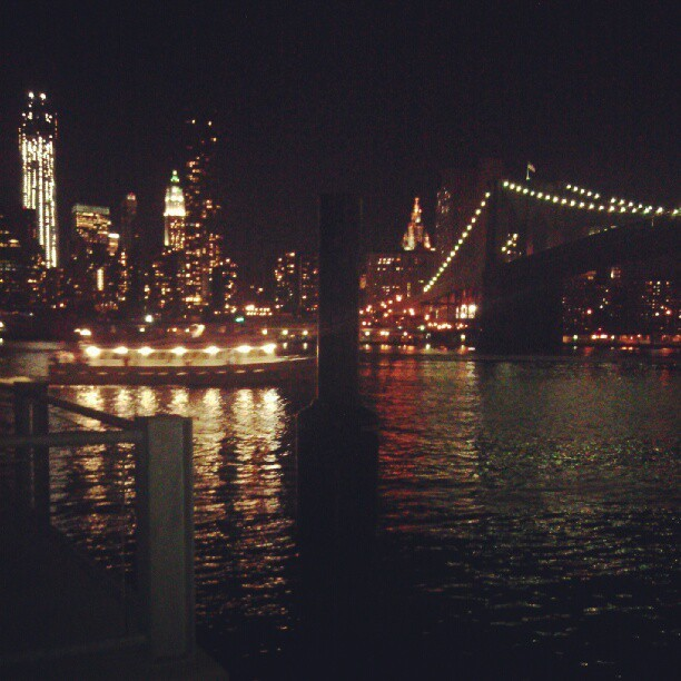 Decided to take a trip to Brooklyn Bridge Park #solitude (Taken with Instagram)