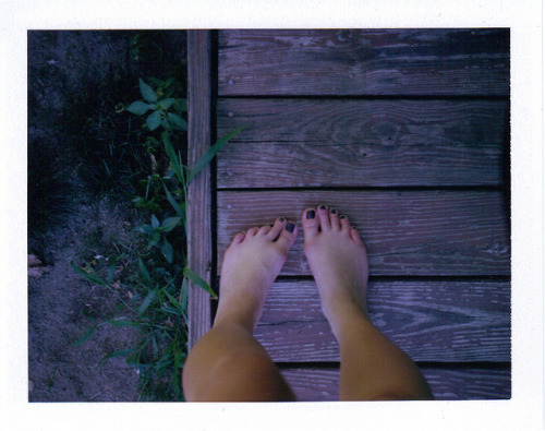 7-25-2012 8;45;40 PM on Flickr. My gross feet.