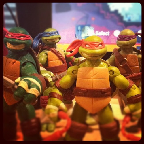 Latest members of my collection #tmnt #teenagemutantninjaturtles (Taken with Instagram at Kento Studios)