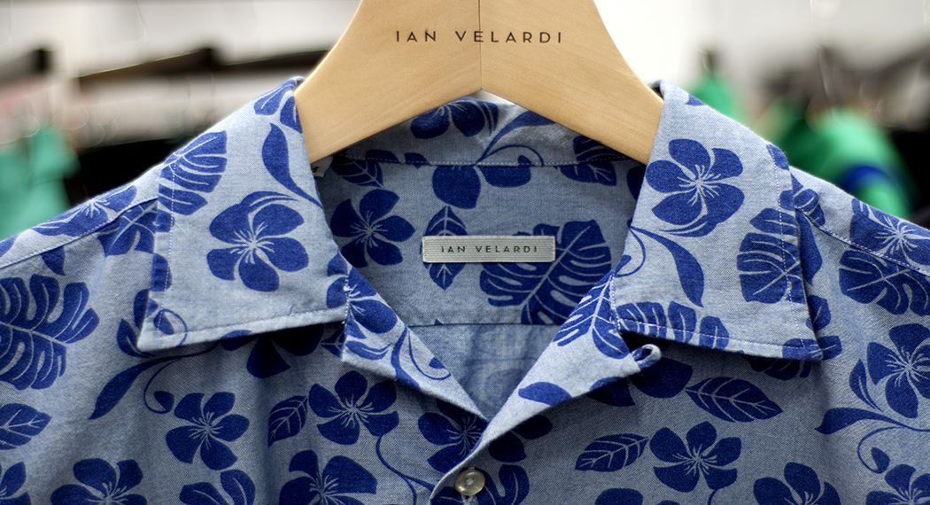 jhilla:  Casual camp collars for 2013. From Ian Velardi's Spring/Summer collection at Capsule