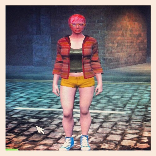 Created the ultimate Hipster avatar for Secret World (Taken with Instagram)