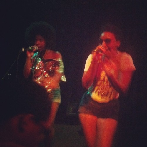 THEESatisfaction is exactly that (Taken with Instagram at Black Cat)