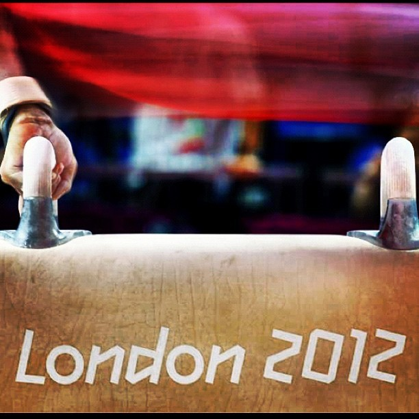 #london2012 #sports #gymnastics (Taken with Instagram)