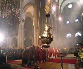 Because nothing says St. James like the world's largest thurible, housed at his final resting place.