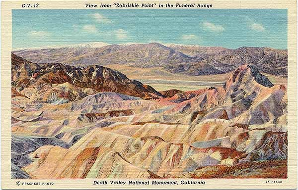 Zabriskie Point, Funeral Range 2 days to The Big Shot