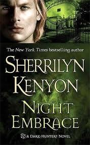 "Book: Night Embrace Author: Sherrilyn Kenyon Series: Dark-Hunter #3 Genre: Paranormal Romance Synopsis: Dear Reader,Life is great for me. I have my chicory coffee, my warm beignets, and my best friend on the cell phone. Once the sun goes down, I am the baddest thing prowling the night: I command the elements, and I know no fear. For centuries, I've protected the innocent and watched over the mankind, making sure they are safe in a world where nothing is ever certain. All I want in return is a hot babe in a red dress, who wants nothing more from me then one night.Instead, I get a runaway Mardi Gras float that tries to turn me into roadkill and a beautiful woman who saves my life but can't remember where she put my pants. Flamboyant and extravagant, Sunshine Runningwolf should be the perfect woman for me. She wants nothing past tonight, no ties, no long-term commitments.But every time I look at her, I start yearning for dreams that I buried centuries ago. With her unconventional ways and ability to baffle me, Sunshine is the one person I find myself needing. But for me to love her would mean her death. I am cursed never to know peace or happiness— not so long as my enemy waits in the night to destroy us both.—Talon of the Morrigantes My Review: This is a story that has stuck with me since I read it about a year ago. Talon is a motorcycle riding Celtic god and Sunshine is an artist with a hidden past. These two characters have a shocking tale to tell. I know that I never in a million years expected what would happen between the two of them. I have a never ending fascination with vampires and the many worlds that authors like to create around them. The Dark-Hunters are very close to the world of vampires, and let me tell you the Dark-Hunter world is by far one of my favorites. The women hold the only chance that the warriors have of getting their souls back. Now isn't that amazing, the women hold the power! ""Night Embrace"" is the third book in the series and true, some of the characters and story carry over into this novel but you could if you wanted to read this book as a standalone. But as you now know it is part of a series and the best place to start would be with ""Fantasy Lover"" the first book. I loved the setting of this book, the swamps of New Orleans. Not to mention the not so friendly neighborhood crocodile. Hahaha now there is a character! Talon had me from the first page, Sunshine has many quirks and took a little getting used to, but once I saw her for the beautiful woman she is I completely fell in love with this couple. With an ending that any romantic action reader would be more than happy with this is a perfect book for all of you paranormal romance fans out there! I hope you will get as much enjoyment out of ""Night Embrace"" as I did! Now go on, get a book, find a cozy place and sit down and read!"